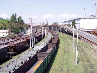 Railroad Cars in Odessa