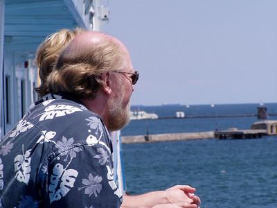 Bob Crawford on Deck