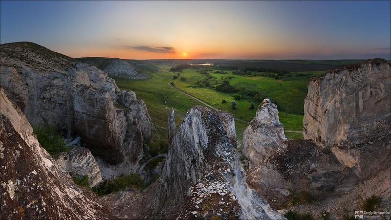 Awakening of Chalk Cliffs | Пробуждение меловых скал