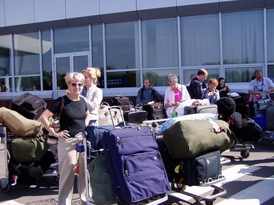 At Kiev Airport