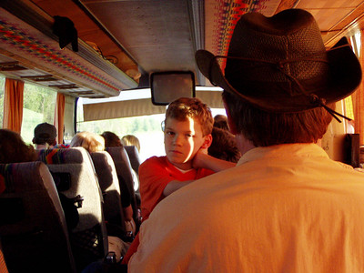 Andrew Turner on the Bus