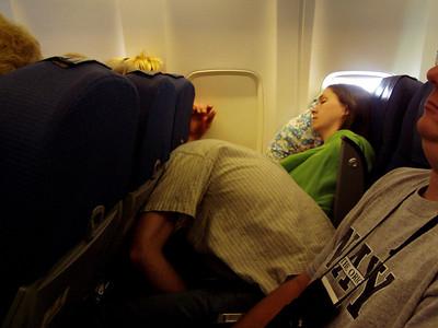 Flying and Sleeping to Kiev