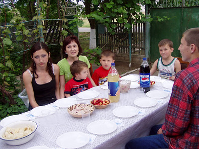 Hope House Family Visit in Kherson