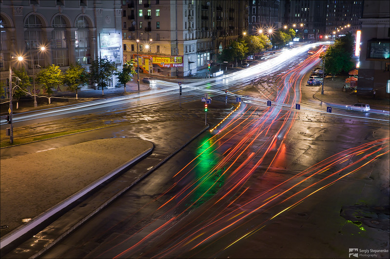Lights of Evening Kharkov | Огни вечернего Харькова