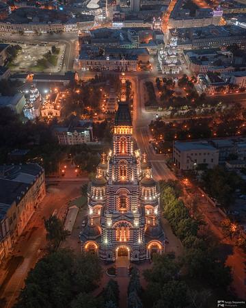 Above Holy Annunciation Cathedral | Над Благовещенским собором