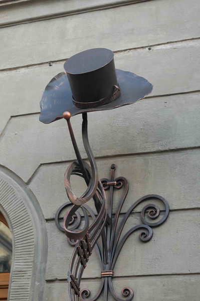 Lviv, Ukraine - hat decoration