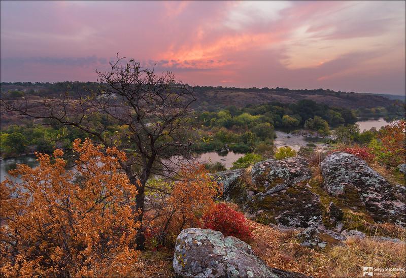 Sunrise on the Rocks | Восход на камнях