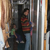 Team on train returning from W Ukraine
