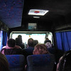 """""""In flight video"""" on bus from Izmail to Odessa as we fly low on the 2-lane highway -- notice the closed windows in summer, keeping OUT the breeze! (you could catch a cold)"""
