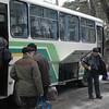 ERSU students leaving on bus