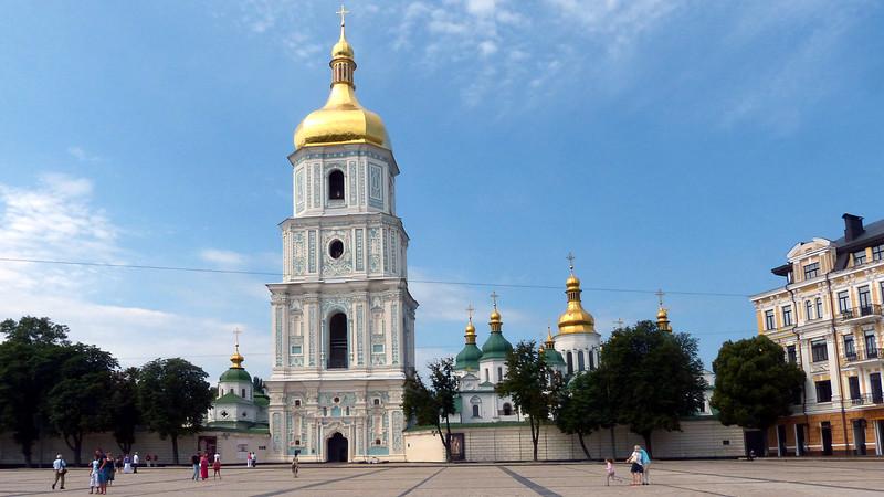 St Stophia Cathedral, Kiev