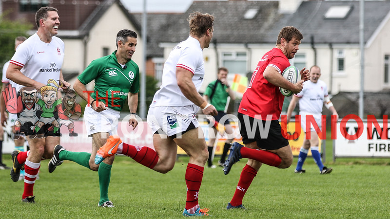 Rugby Rocks Belfast, Ulster Legends v Chris Henry Select, Malone RFC, 26th May 2019
