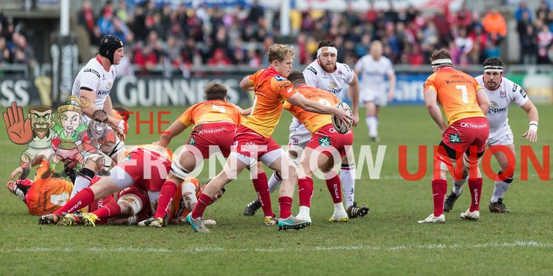 PRO12: Ulster 20 Scarlets 21