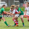 An Ulster Select women's side entertained American touring side, the Midwest Thunderbirds, on Saturday afternoon at Malone Rugby Club.