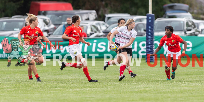 Ulster U18 7 Munster U18 36, Women's Interprovincial Final, Saturday 21st September 2019