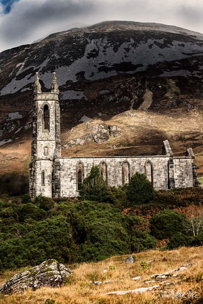 Abandoned church, Dunlewy