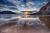 Boyeeghter bay sunset