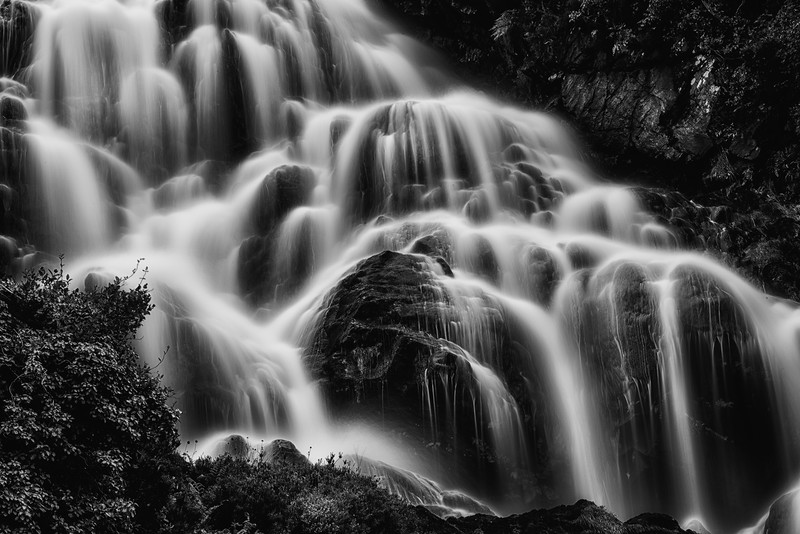 The upper falls Assaranca