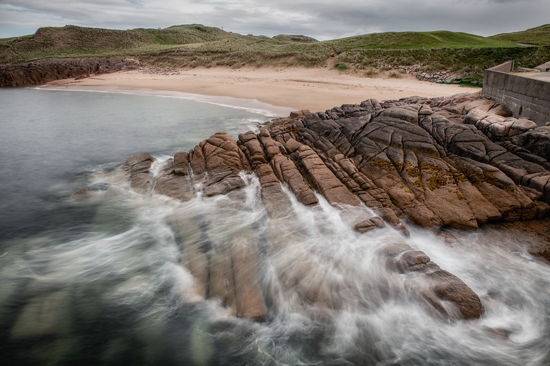 Motion in the ocean at Cruit Island