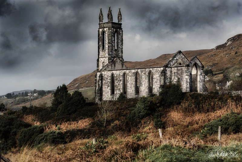 The old ruined church
