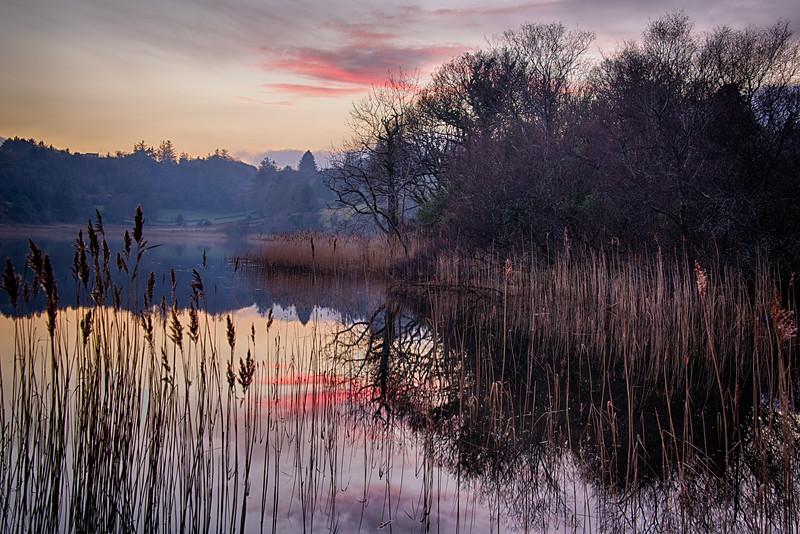 The lake at Creeslough