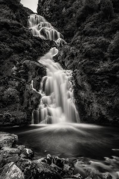 The falls at Assaranca, Ardara