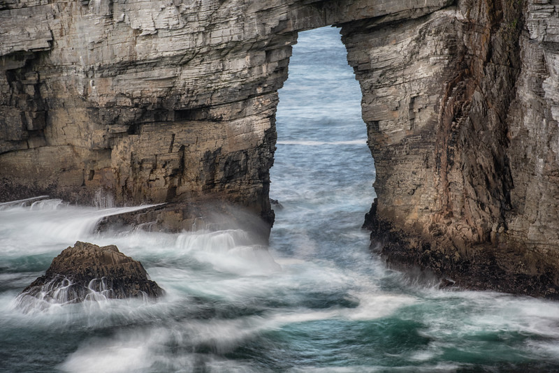 Marble sea arch