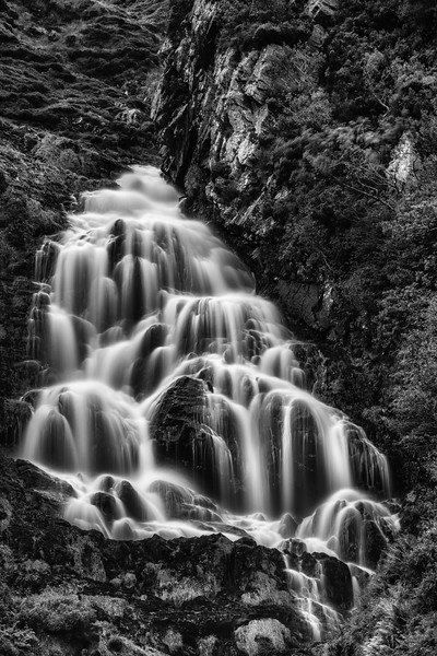 Upper falls at Assaranca, Ardara
