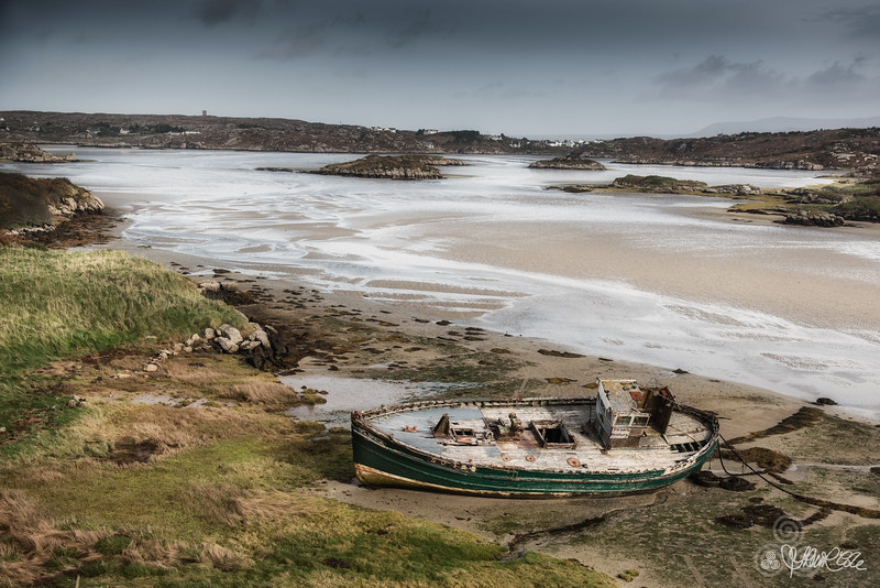 The wreck at Cruit
