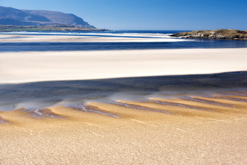 Tides and beach, Sheskinmore