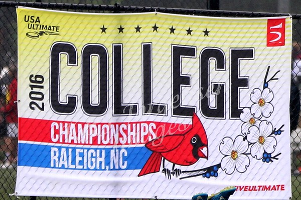 2016 USA Ultimate College Nationals, Raleigh NC - UW Hodags!