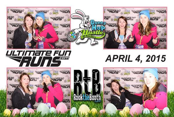 2015 Bunny Hop Hustle Photo Booth