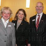 Mary Littrell, Cyndi Caldwell and Dave Bond.