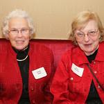 Glenda Haller and Irene Chastain.