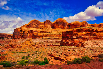 Desert Canyon near Moab, Utah