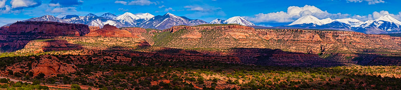 La Sal Mountain Range