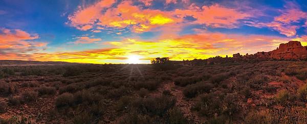 Kissing the Desert Goodnight