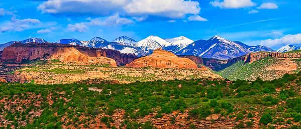 LaSalle Mountains in Utah