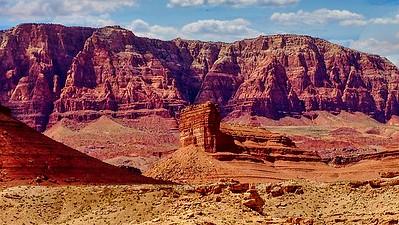 Cathedral Rock near Vermillion Cliffs, AZ