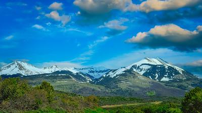 LaSalle Mtns. near Moab, Utah
