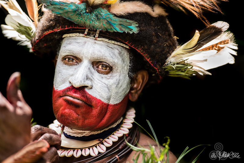 Adorned, Papuan style