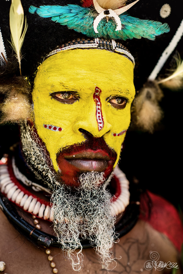 Huli wigman, PNG Highlands