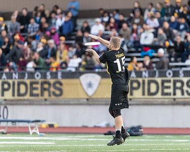AUDL 2018 Week 11: San Diego Growlers at San Jose Spiders