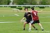 Coupe Junior 2012, Sablé sur Sarthe, France.<br /> Friz'toi vs Frisbeurs. Junior U17.<br /> PhotoID : 2012-05-05-0039