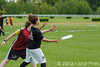 Coupe Junior 2012, Sablé sur Sarthe, France.<br /> Friz'toi vs Frisbeurs. Junior U17.<br /> PhotoID : 2012-05-05-0021