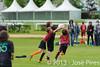 Coupe Junior 2013, Sablé sur Sarthe, France.<br /> U14. RFO (La Flotte en Ré)   vs Frisbeurs Nantais (Nantes)<br /> PhotoID : 2013-05-11-0012