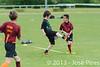Coupe Junior 2013, Sablé sur Sarthe, France.<br /> U14. RFO (La Flotte en Ré)   vs Frisbeurs Nantais (Nantes)<br /> PhotoID : 2013-05-11-0054