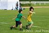 Coupe Junior 2013, Sablé sur Sarthe, France.<br /> U14. 1/4 de finale.  Frisbeurs Nantais (Nantes) vs Freezgo (Blois).<br /> PhotoID : 2013-05-12-0616