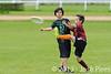 Coupe Junior 2013, Sablé sur Sarthe, France.<br /> U14. RFO (La Flotte en Ré)   vs Frisbeurs Nantais (Nantes)<br /> PhotoID : 2013-05-11-0032
