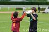 Coupe Junior 2013, Sablé sur Sarthe, France.<br /> U14. RFO (La Flotte en Ré)   vs Frisbeurs Nantais (Nantes)<br /> PhotoID : 2013-05-11-0009